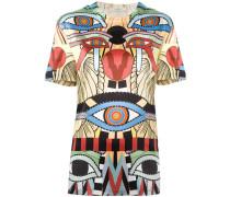 'Crazy Cleopatra' T-Shirt mit Print