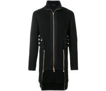 strap detail coat
