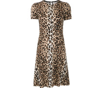 Kleid mit Geparden-Print