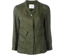 flap pocket jacket - women