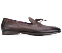 - Loafer aus gekörntem Leder - men