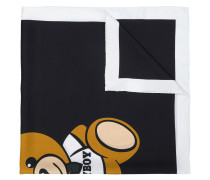 monochrome silk scarf