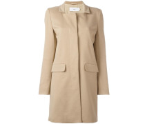 Mantel mit rechteckigem Ausschnitt