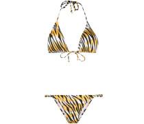 Bikini mit Tiger-Print