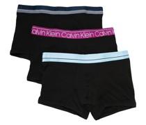 3er-Set Shorts mit Logo
