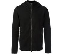 Shearling-Pullover mit Kapuzen
