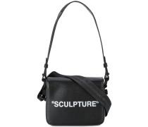 """Schultertasche mit """"Sculpture""""-Print"""