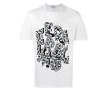 T-Shirt mit Buchstaben-Print