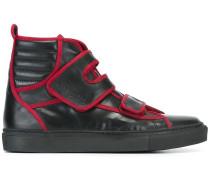 HighTopSneakers mit Kontrastpaspeln