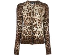 - Cardigan mit Leoparden-Print - women