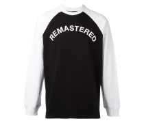 "Sweatshirt mit ""Remastered""-Print"