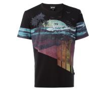 T-Shirt mit Strand-Print - men - Baumwolle - M