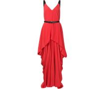 Gegurtetes Abendkleid mit drapiertem Design