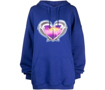 Dolphins Heart Hoodie
