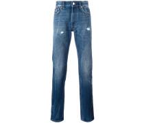 Jeans in Knitteroptik - men - Baumwolle - 32