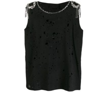 Verziertes Distressed-Top