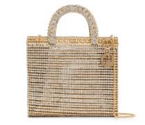 'Teodora' Handtasche mit Kristallen