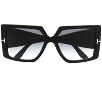 Eckige 'Quinn' Sonnenbrille