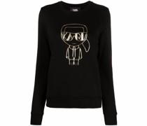 Sweatshirt mit K/Ikonik-Print