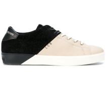 contrast sneakers