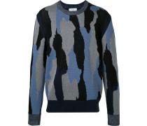 Pullover mit Muster - men - Baumwolle/Polyamid