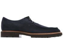 Wildleder-Derby-Schuhe mit Logo-Stempel