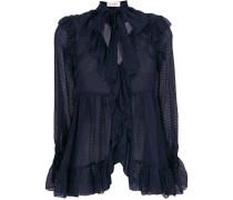 Folly ruffle blouse