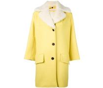 Mantel mit Lammfellborte
