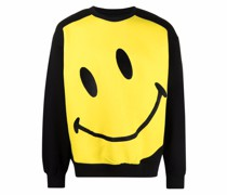 Big Smiley-print sweatshirt