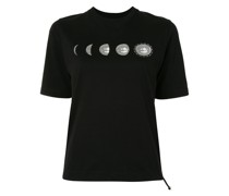 T-Shirt mit Mond-Print