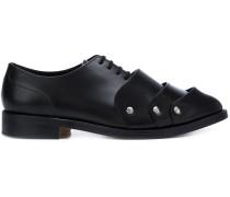Derby-Schuhe mit Kappen