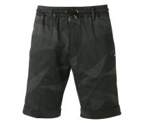 Shorts mit Camouflage-Print - men