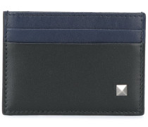 'Rockstud' two-tone card holder