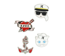 Captain Karl brooches