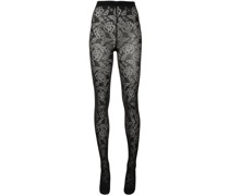 Laura floral tights