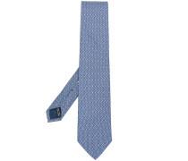 double Gancio print tie