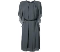 leather belt kimono dress