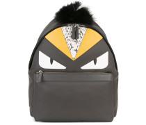 Bag Bugs backpack - men - Fuchspelz/Leder/Nylon