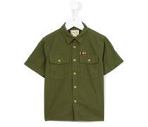 Hemd mit kurzen Ärmeln - kids - Baumwolle - 10