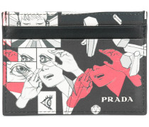 Clutch mit Comic-Motiv