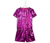 - teen sequin embellished playsuit - kids