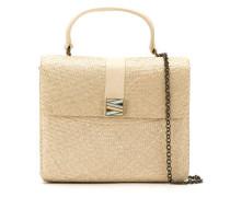 straw 'Riabun' bag