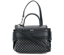 mini studded tote bag