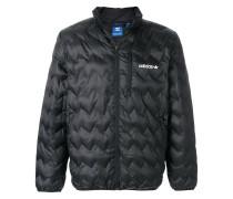 zigzag padded jacket