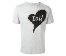 T-Shirt mit Herz-Print - men - Baumwolle - L