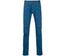 Jeans mit Kontrastnaht