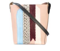 Handtasche mit gestreiften Details