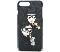 designer's patch iPhone 7 Plus case - men