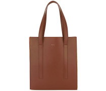 Handtasche mit bunten Einsätzen