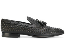 studded tassel loafers